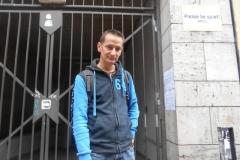 Különdíj gyerek kategória: Tanos Cecília - Az utca embere